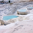 Pamukkale cascade lakes — Stock Photo #2459089