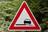 Dangerous roadside — Stock Photo