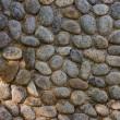 Pebble pavement — Stock Photo