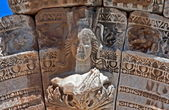 Broken old gate, Ephesus — Stock Photo