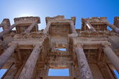 Old library at the Ephesus — Stock Photo