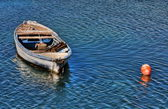 Small fish boat — Stock Photo