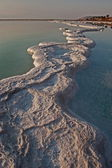 Salt path around Dead sea — Stock Photo