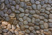 Pebble pavement — Stock Photo