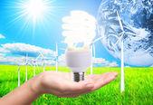Energy renewable — Stock Photo