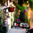 Picturesque view of an Italian street — Foto Stock