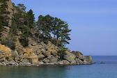Lake shore — Stock Photo
