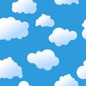 Seamless sky background — Stock Vector