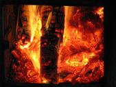 La cámara de fuego. — Foto de Stock