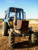 The Old tractor. — Stock Photo