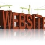 Website building www under construction — Stock Photo