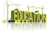 Building education — Stock Photo