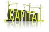 Making capital — Stock Photo
