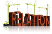 Relation building — Stock Photo