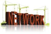 Network building — Stock Photo