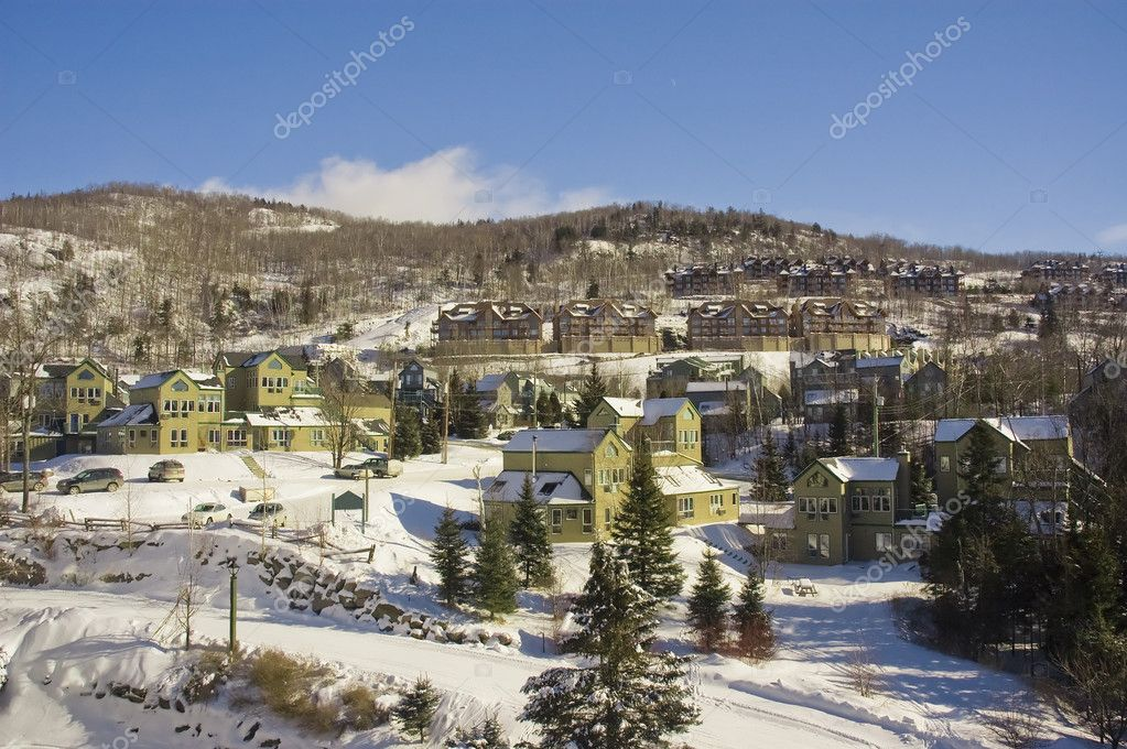 Mont Tremblant ski village in Quebec Canada — Stock Photo #2600808