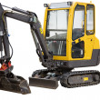 Yellow excavator — Stock Photo #2481937