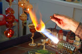 Glass Blowing 2. — Stock Photo