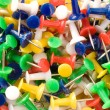Multicolored push pins. — Stock Photo #2495676