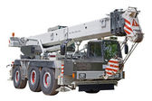 Mobile crane — Stock Photo