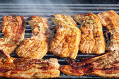Barbecued steak. — Stock Photo