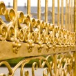 Details of golden gate. - Stock Photo