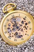 Reloj de bolsillo mecánico. — Foto de Stock