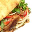 Doner kebab. — Fotografia Stock