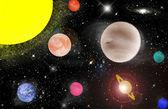 Solar system — Stock Photo