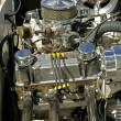 Stock Photo: Classic Car Engine