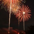Stock Photo: Fireworks Display 3