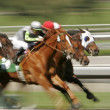 Foto Stock: Abstract Blur Horse Race