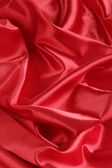 Red Satin Background -- Vertical — Stock Photo