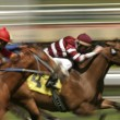 Stock Photo: Abstract Motion Blur Horse Race