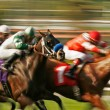 Abstract Blur Horse Race — 图库照片