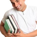 Happy university college student — Stock Photo