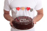 Happy Birthday Cake — Stock Photo