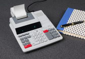 Calculating machine — Stock Photo