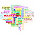 Royalty-Free Stock Photo: Marketing Strategy Word Cloud