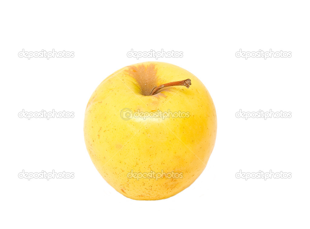Apple on a white background  Stock Photo #2495078