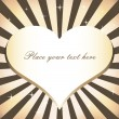 Heart background — Vector de stock #2468163
