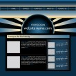 Website design template — Stock Vector #2468203