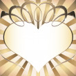 Royalty-Free Stock Imagen vectorial: Background with heart