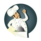 Chef — Stock Vector
