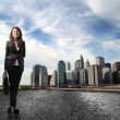 Business in the city — Stock Photo