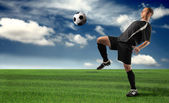 Soccer — Stock Photo