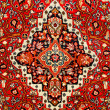 Colorful indian carpet — Stock Photo