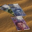 Stock Photo: Swiss currency bank notes