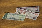 Divieto di valuta dirham degli emirati arabi uniti — Foto Stock