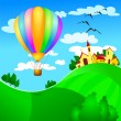 Vettoriale Stock : Balloon